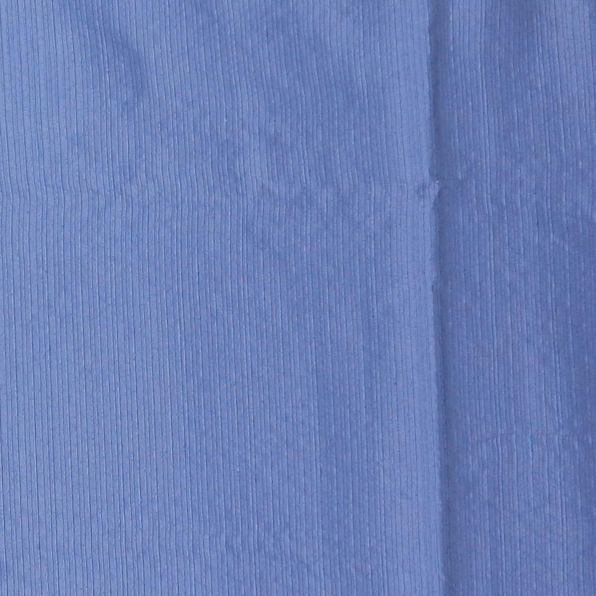 Cortina Para Sala Rústica Pantex Azul 2,60 x 2,30 Bella Janela