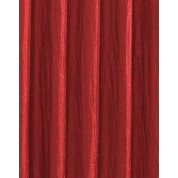Cortina Seda Amassada Vermelha 3,00 x 2,50 Bella Janela