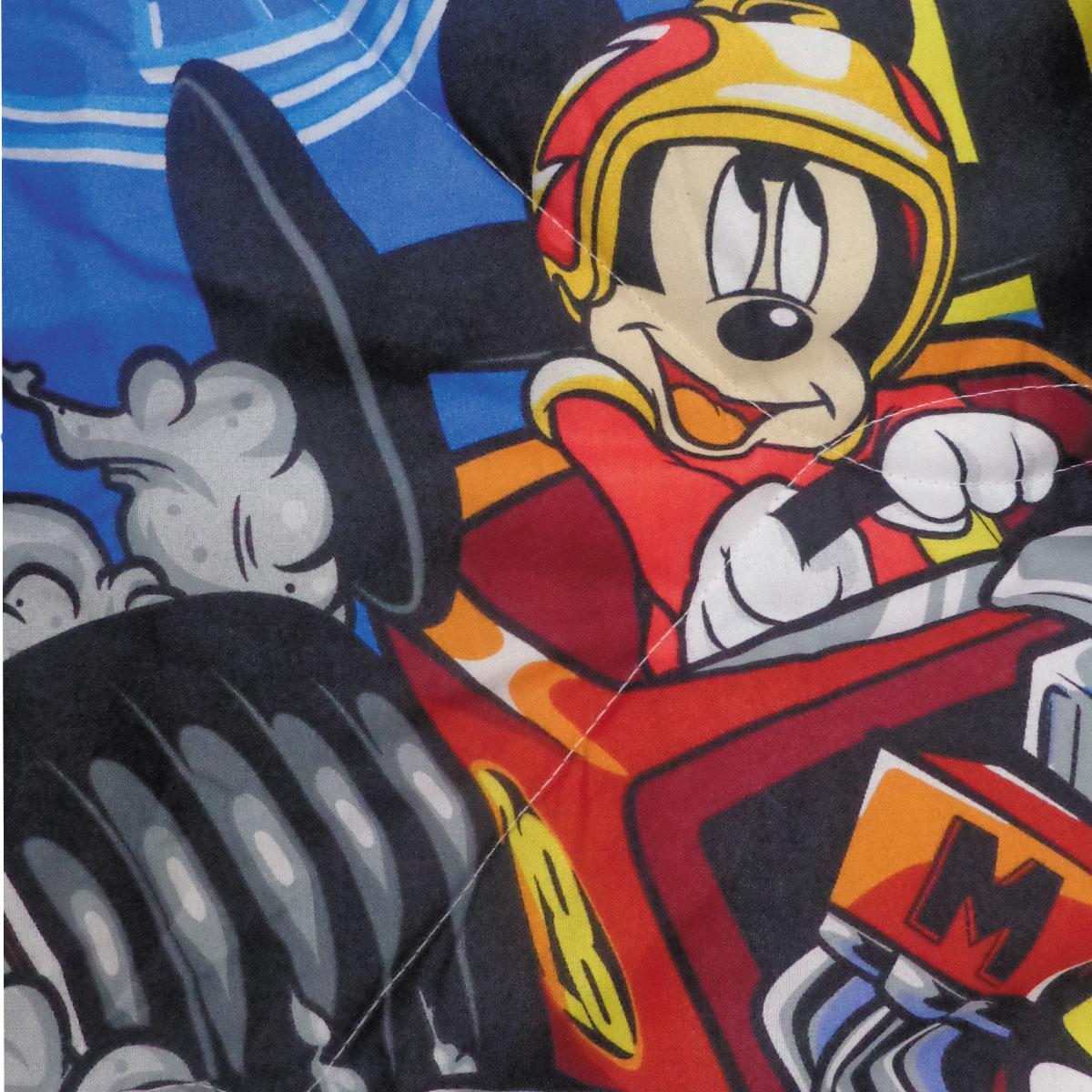 Edredom Infantil Disney Mickey Aventura Sobre Rodas Dupla Face Lepper