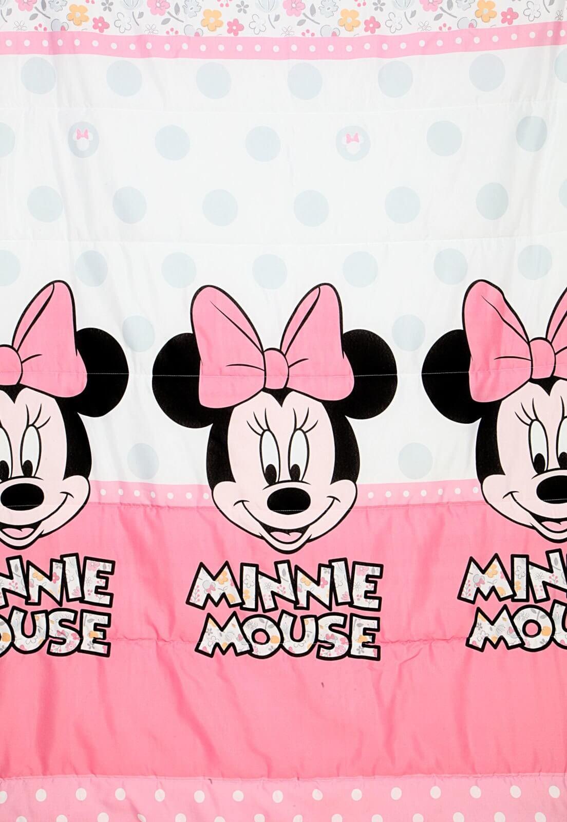 Edredom Infantil Minnie Happy Santista