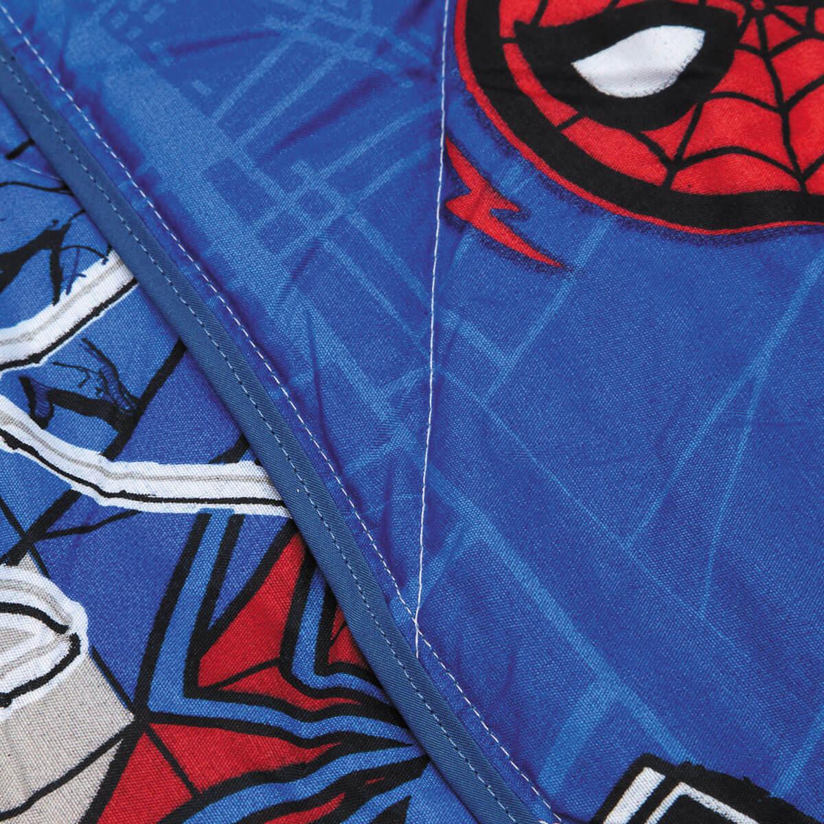 Edredom Solteiro Homem Aranha Infantil Spider Man Lepper