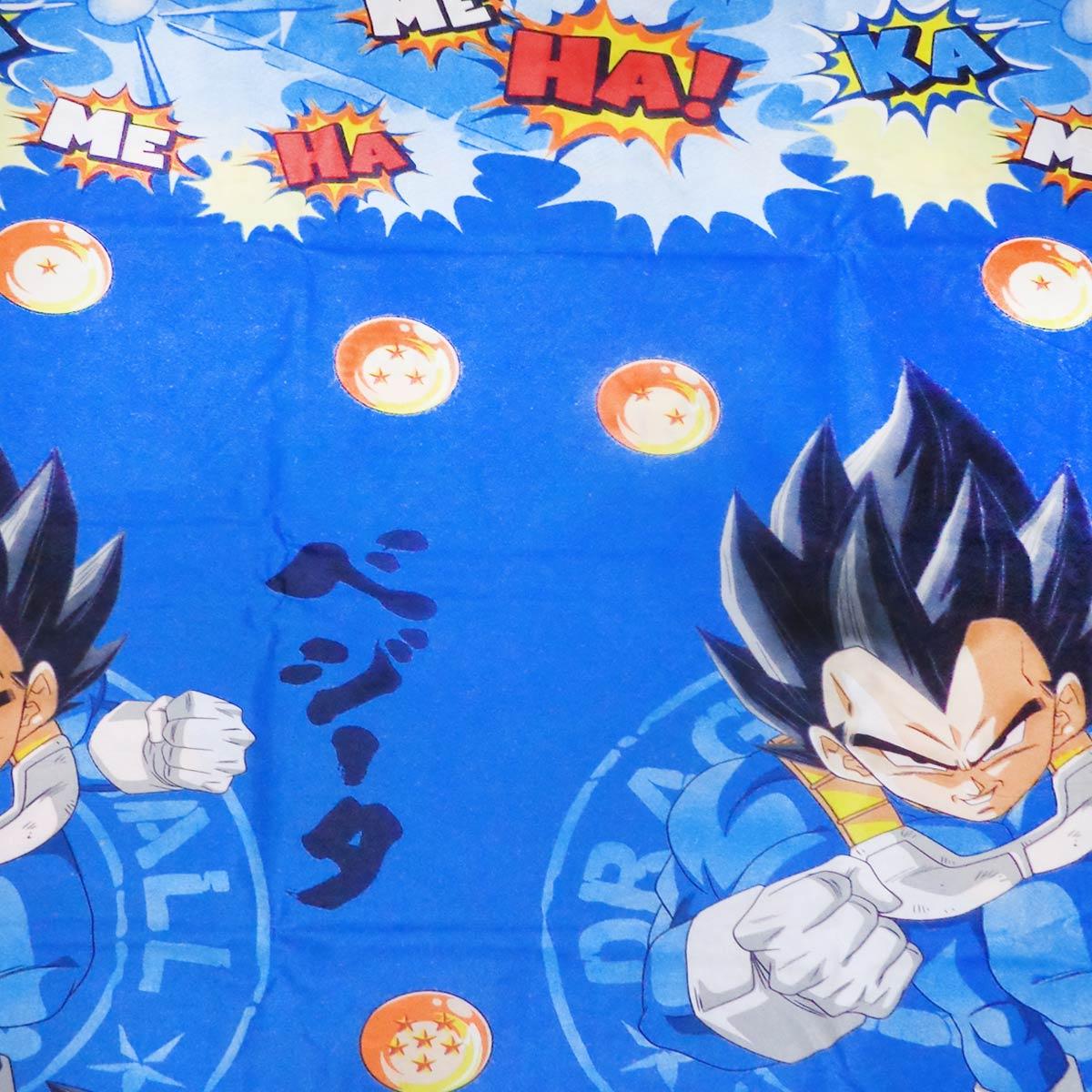 Jogo De Cama Infantil Dragon Ball Azul Menino 3 Peças Lepper