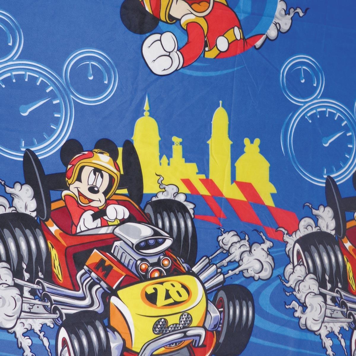 Jogo De Cama Infantil Mickey Mouse Menino 3 Peças Lepper