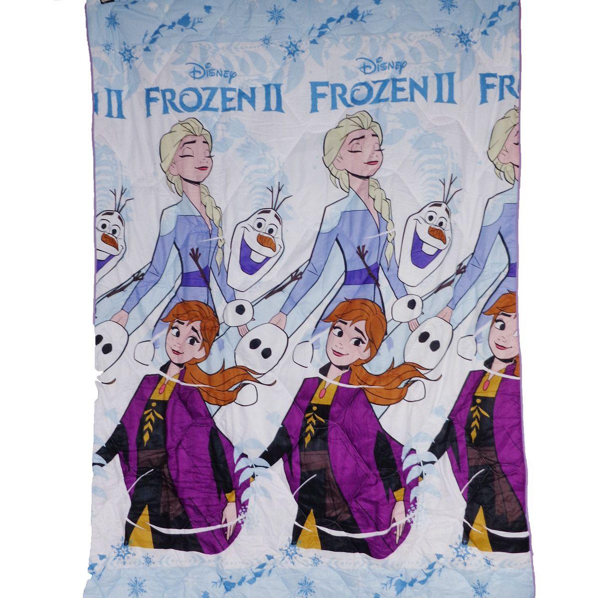 Kit Infantil Frozen Edredom + Cortina Rosa Lepper