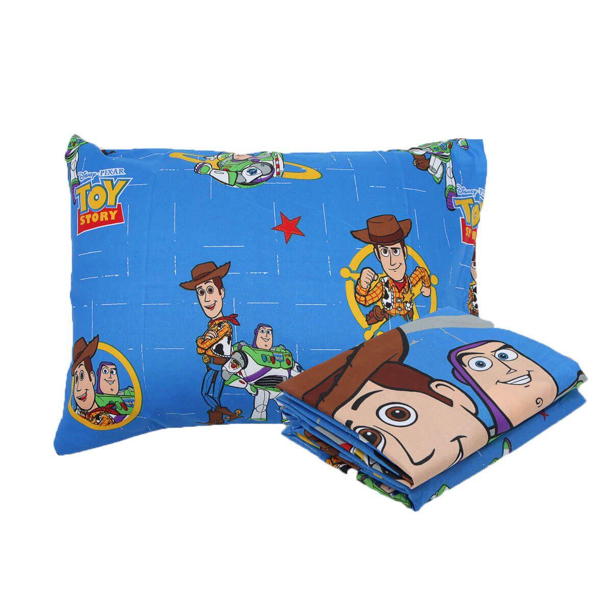 Kit Infantil Toy Story Jogo De Cama + Edredom Lepper
