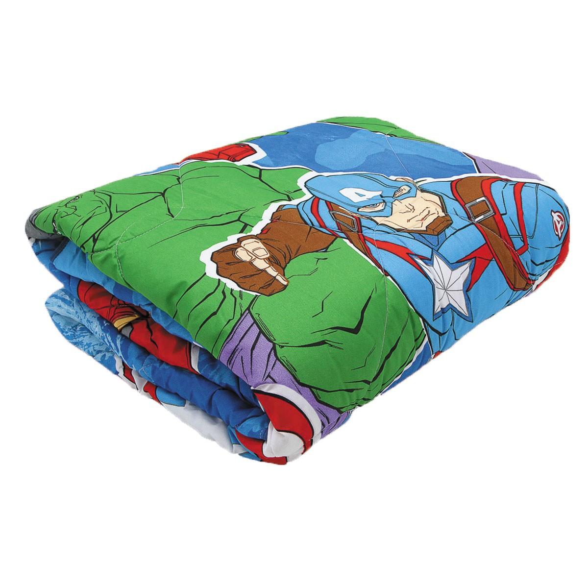Kit Vingadores Avengers Edredom + Cortina Lepper