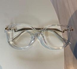 Armação De Óculos de Grau Mariah Transparente