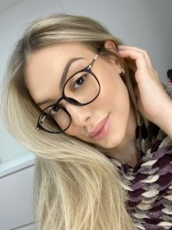 Óculos de Grau Redondo Lara Azul