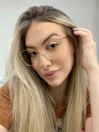 Armação Óculos de Grau Lily Dourado