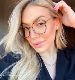 Armação Óculos de Grau Livia Oncinha