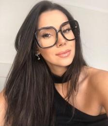 Óculos de Grau Quadrado Melissa Preto