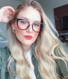 Armação Óculos de Grau Marcela Preto