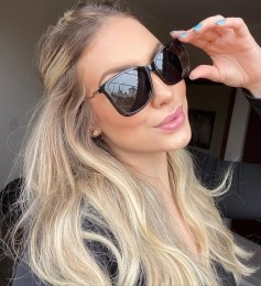 Óculos Clipon 2 em 1 Betina Preto
