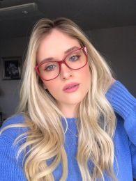 Óculos de Grau Mayla Vermelho
