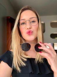 Óculos Clipon Mariah Preto (2 em 1)