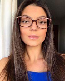 Óculos de grau Diana Vermelho