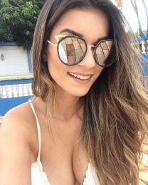 Óculos de sol Califórnia Prata