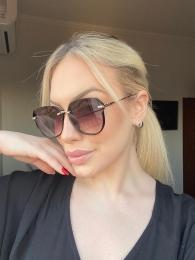 Óculos de Sol Feminino Sabrina Proteção UV 400 - Millu Shop