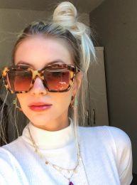 Óculos de sol Lila oncinha