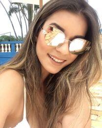 Óculos de sol Queen Rosê
