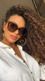 Óculos de sol Viviane Marrom