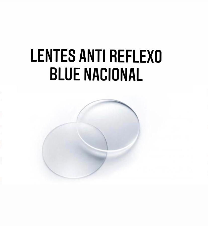 Lente para Óculos Anti Reflexo Blue Nacional