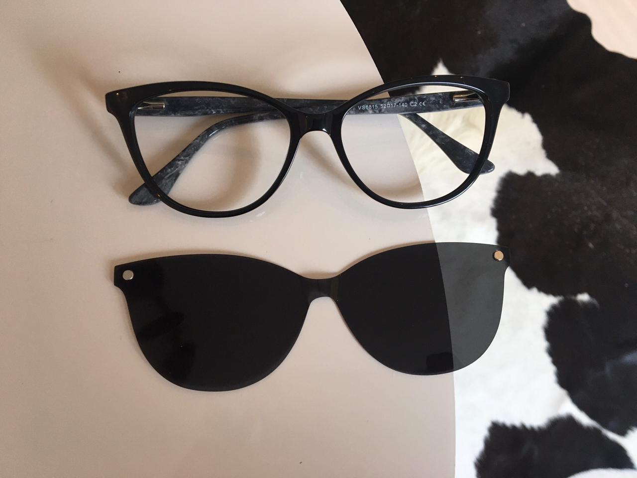 Armação de Óculos 2 em 1 Clipon Sofia