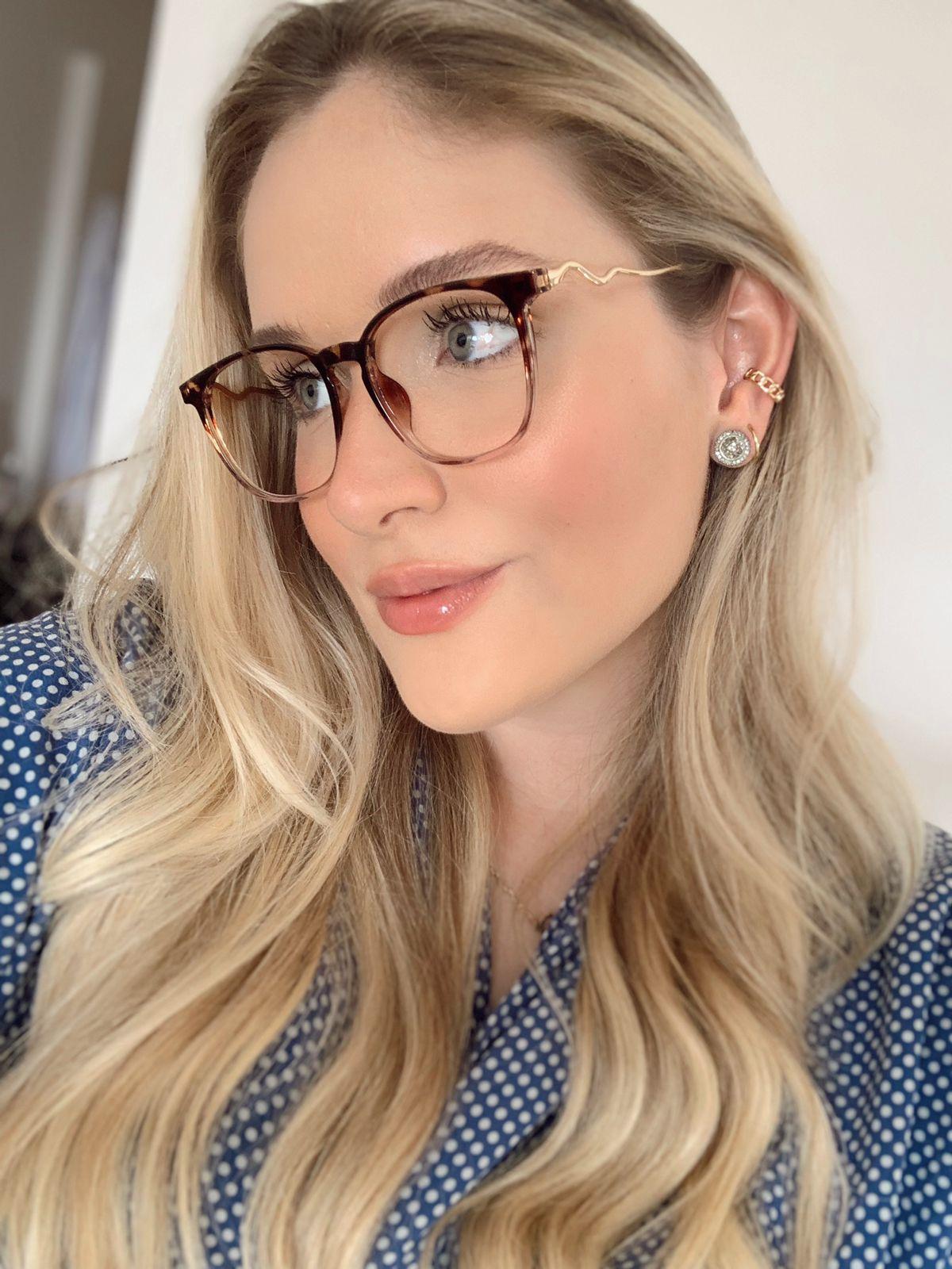 Armação De Óculos de Grau Daya Oncinha