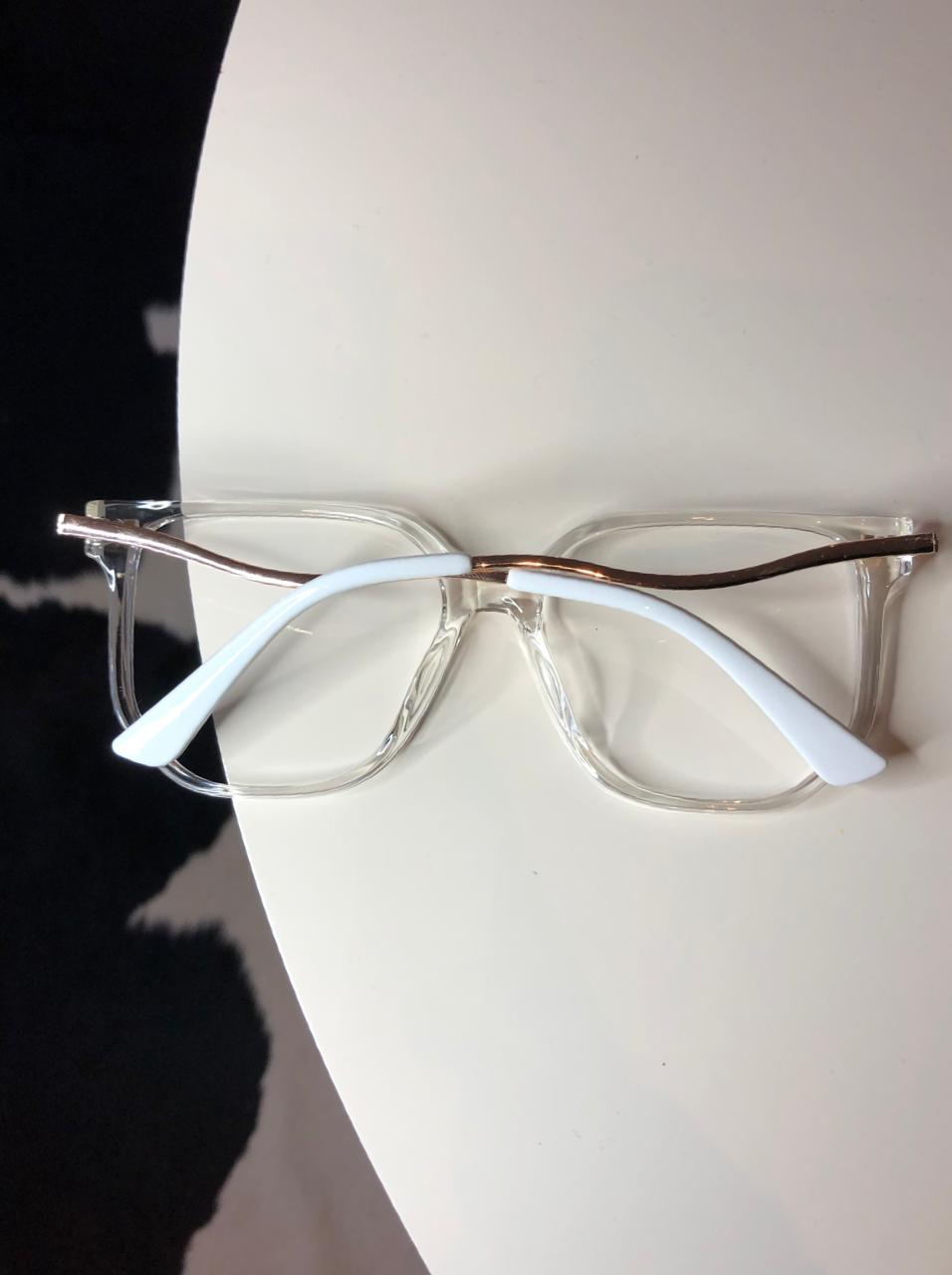 Armação De Óculos de Grau Lavinia Transparente
