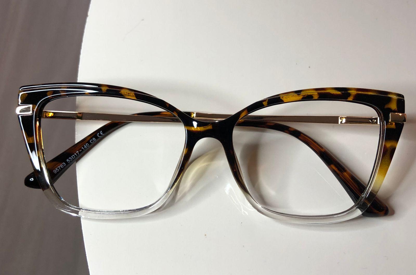 Armação De Óculos de Grau Ligia Oncinha