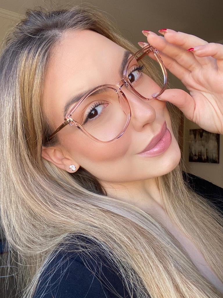 Armação de Óculos de Grau Tiane Rose