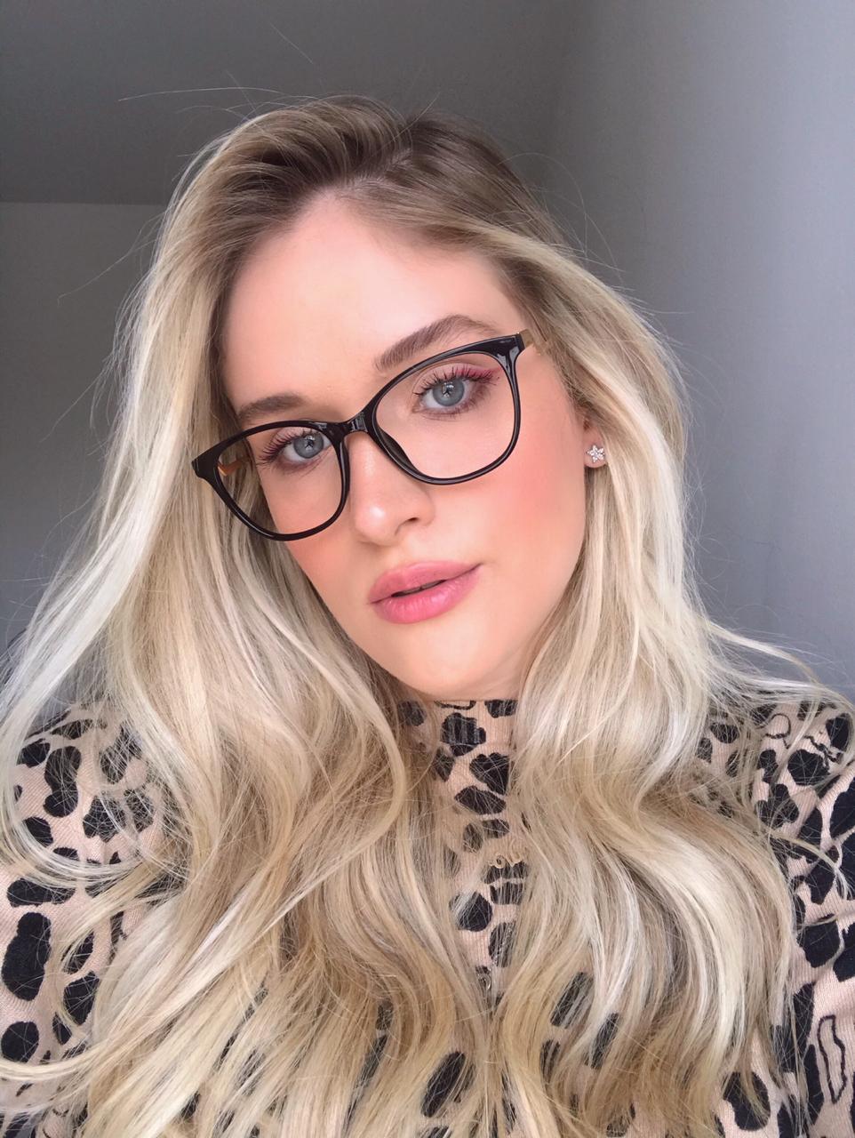 Armação Óculos de Grau Julia Preto