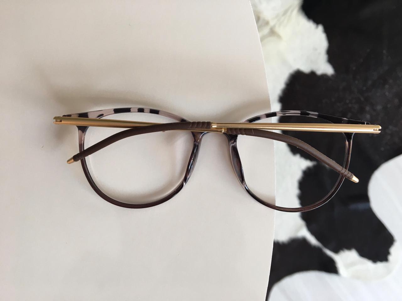 Armação Óculos de Grau Carmeli Oncinha