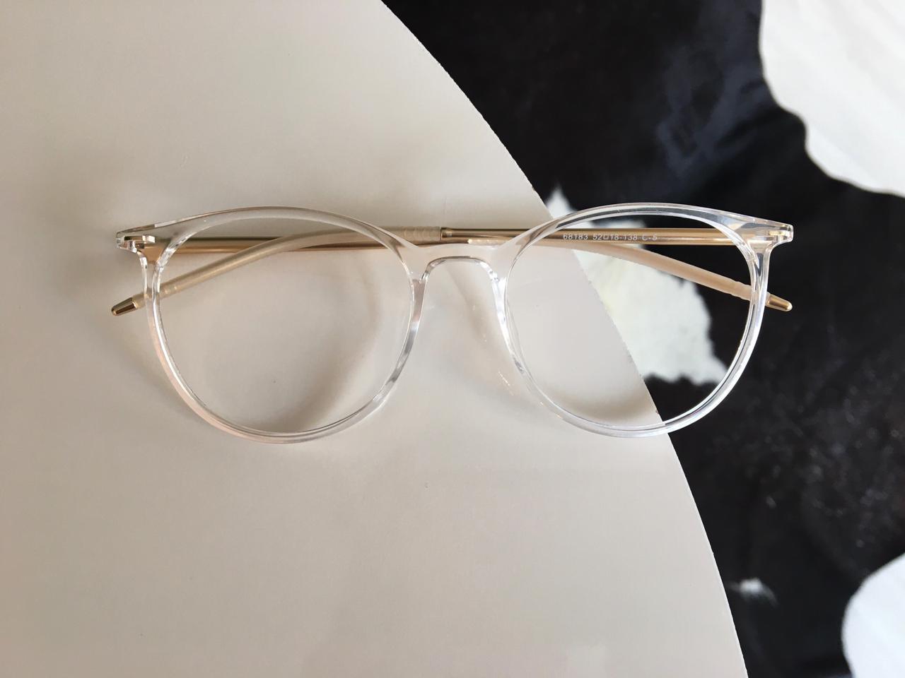 Armação Óculos de Grau Carmeli Transparente