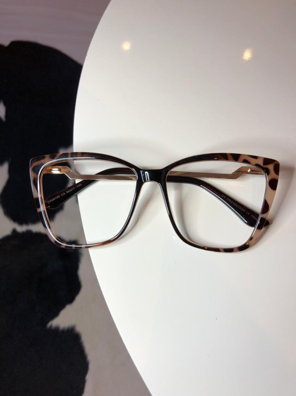 Armação Óculos de Grau Cloe Oncinha