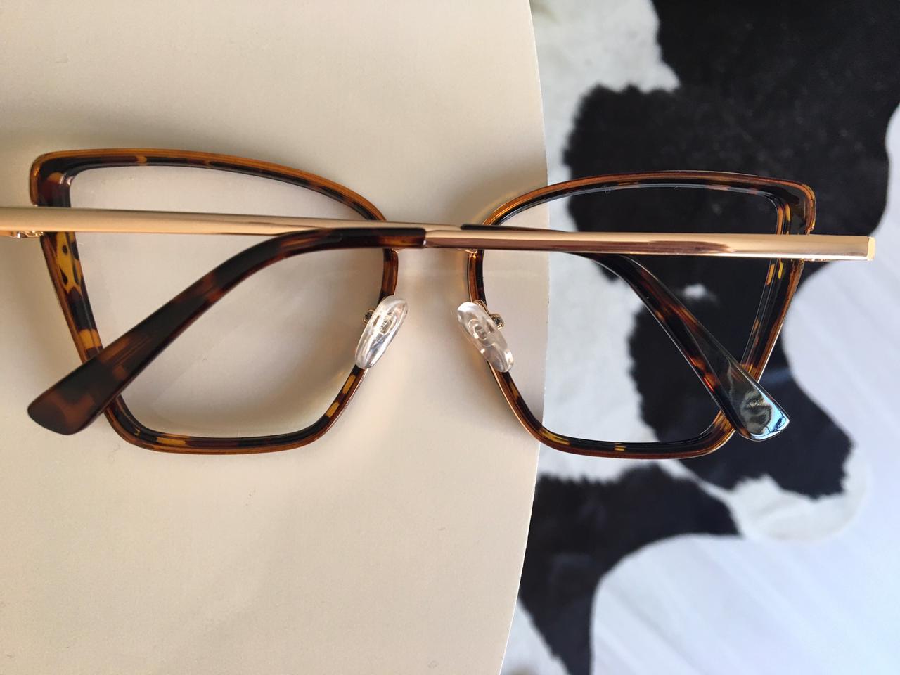 Armação Óculos de Grau Giulia Oncinha