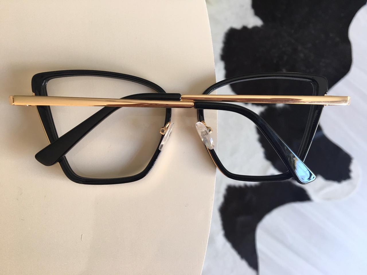 Armação Óculos de Grau Giulia Preto