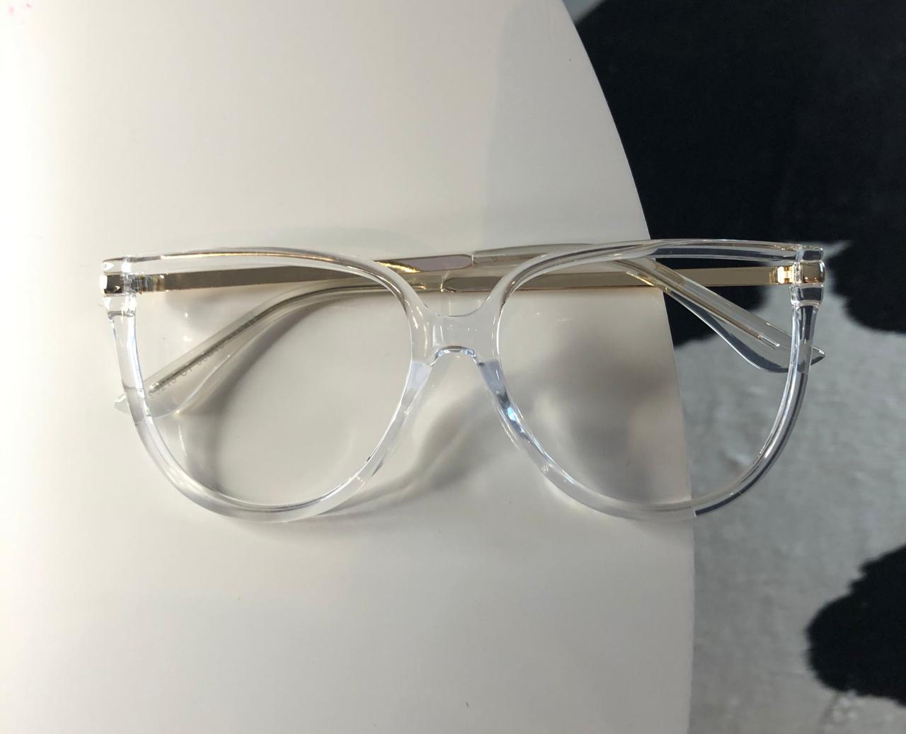 Armação Óculos de Grau Lia Transparente