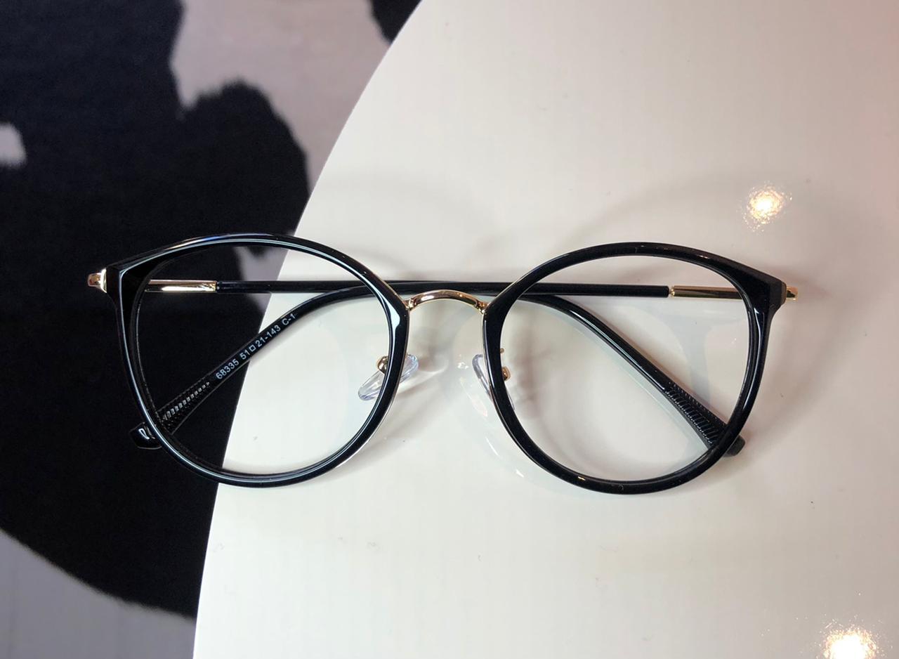 Armação Óculos de Grau Livia Preto