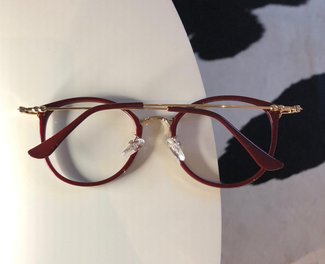 Armação Óculos de Grau Livia Vermelho