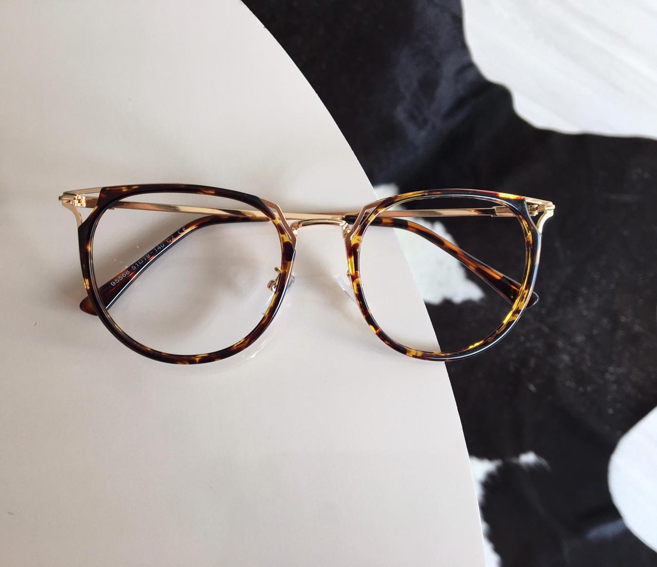 Armação Óculos de Grau Maisa Oncinha