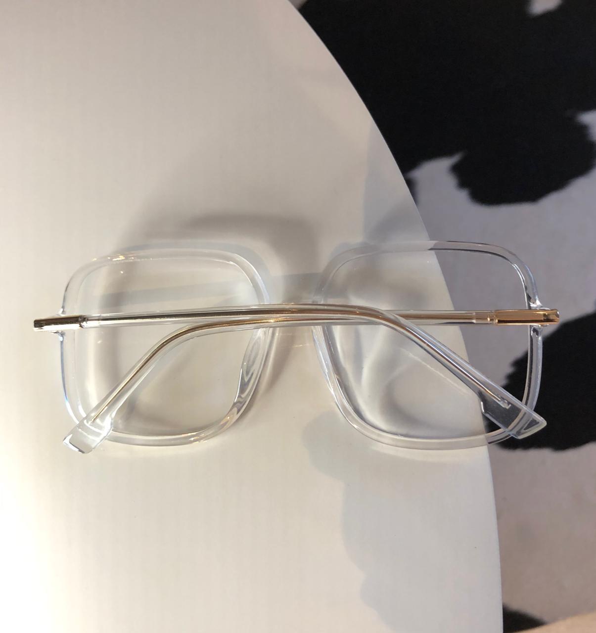 Armação Óculos de Grau Melissa Transparente