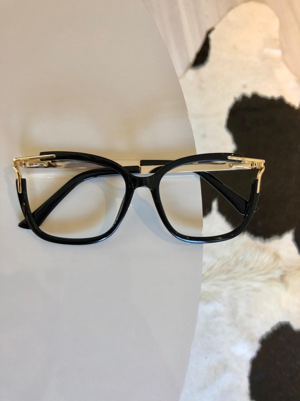 Armação Óculos de Grau Mirela Preto