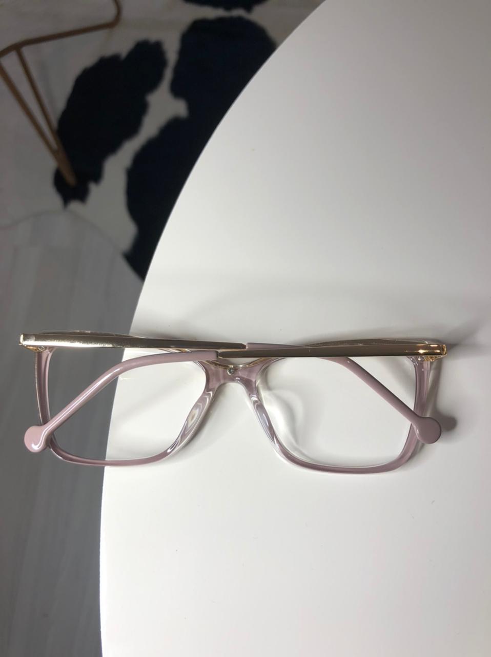 Armação Óculos de Grau Polly Nude