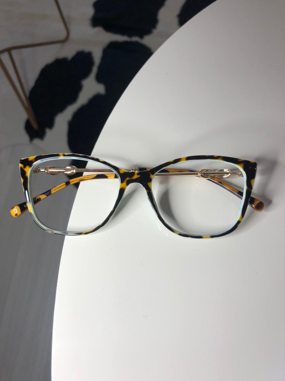 Armação Óculos de Grau Renata Oncinha