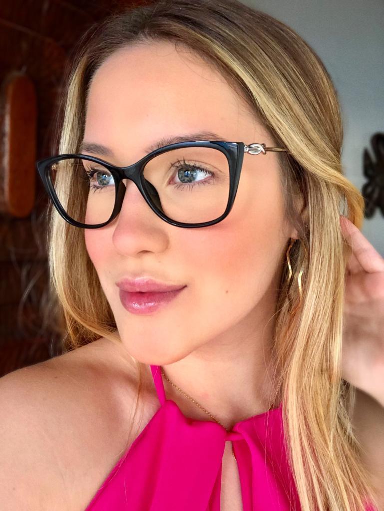 Armação Óculos de Grau Renata Preto
