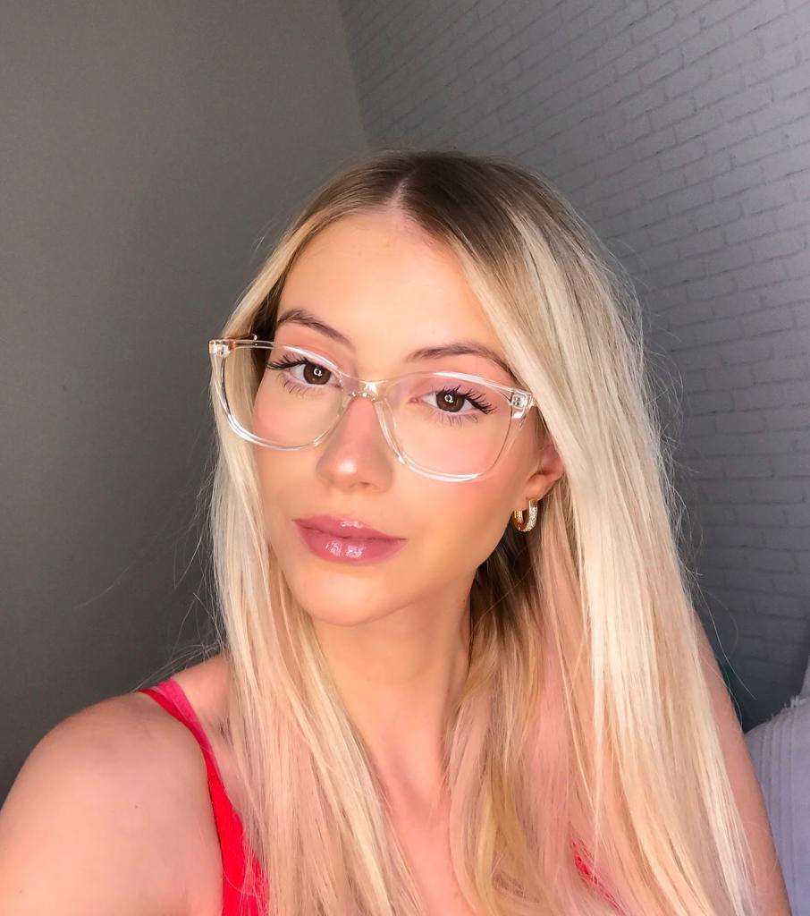 Armação Óculos de Grau Renata Transparente