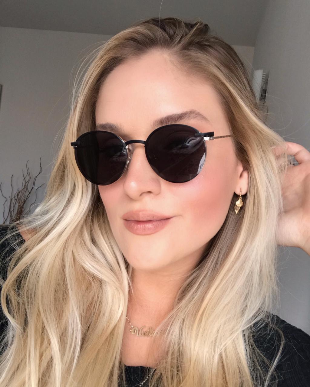 Óculos Clipon 2 em 1 Anita Prata