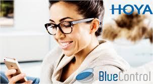 Lente de Grau para Óculos HOYA BLUE CONTROL 1.67