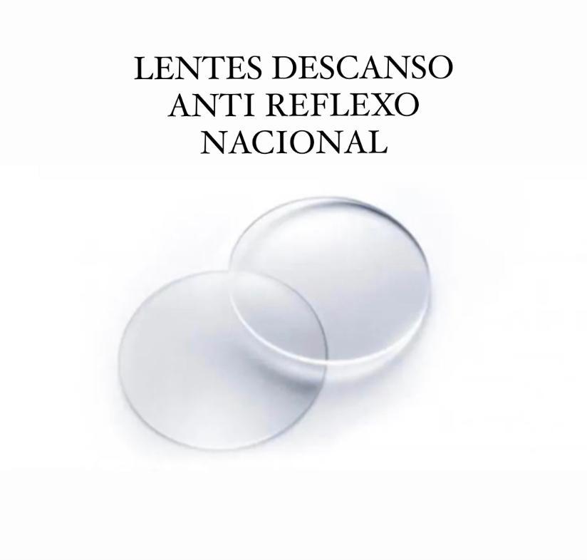 LENTES DE DESCANSO ANTI REFLEXO NACIONAL